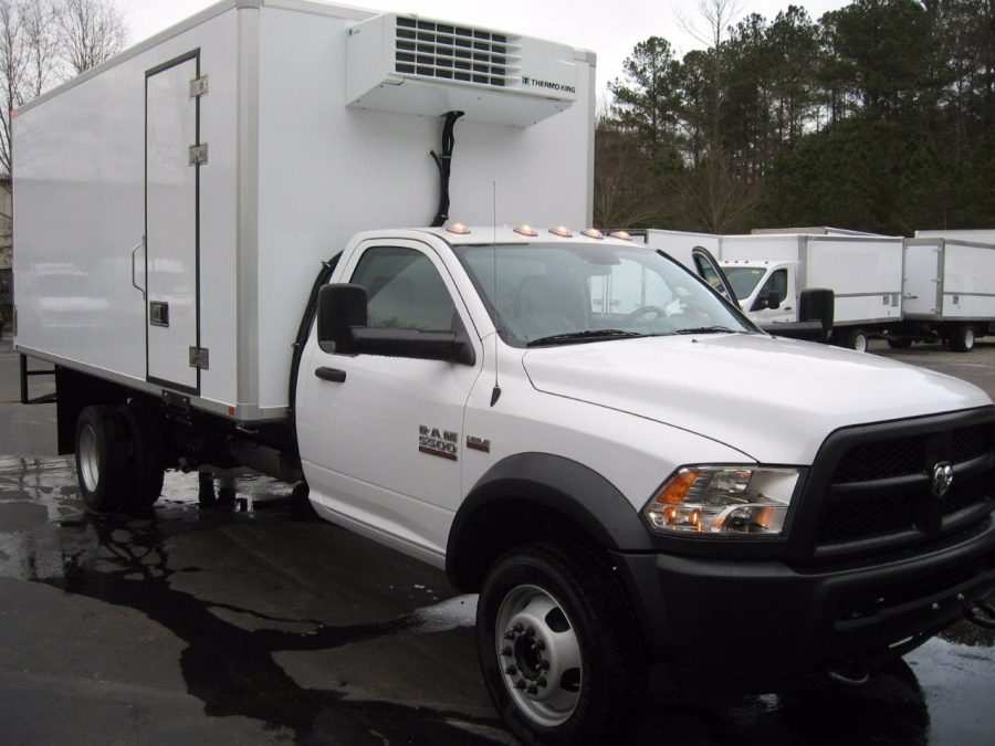 2016 Ram 5500 Refrigerated Truck Emerald Transportation