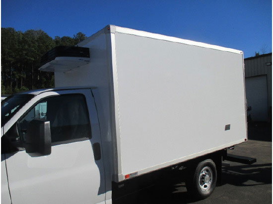 2016 Chevrolet Express 3500 Refrigerated Truck Emerald